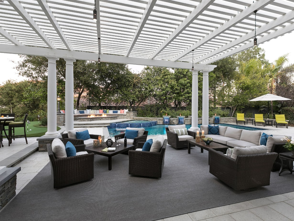 The Ultimate Stay-Cation Patio--After