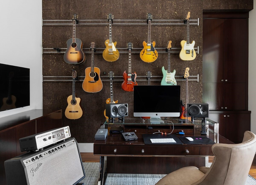Design Inspiration - Guitar Office